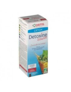 DETOX METODREN 250ml cranberry raspberry with fucus. - ORTIS