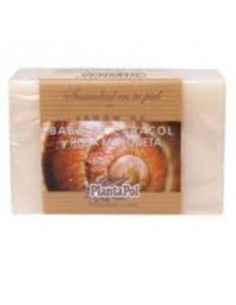 NATURAL SOAP snail and pink mosq. 100gr. - PLANTAPOL