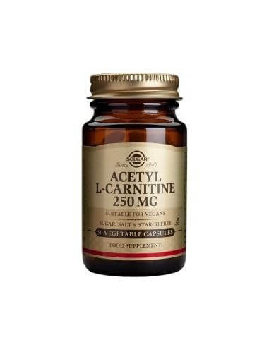 ACETYL L-CARNITINE 250mg. 30vegicaps - SOLGAR