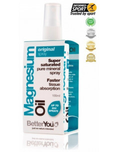 Aceite de Magnesio - Original Spray - BetterYou-100ml