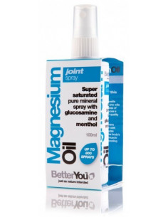 Aceite de Magnesio - Articular Spray (a base de mentol)- BetterYou-100ml