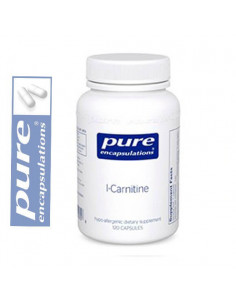 L-Carnitina - Pure Encapsulations - 60 cápsulas