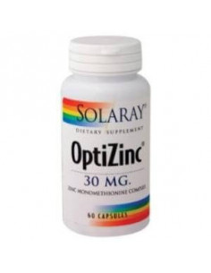 OPTIZINC 60cap. - SOLARAY