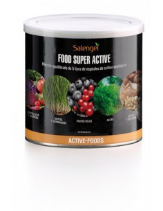 Food Super Active Active Foods (Suplemento vegetal)-Salengei-250gr Polvo.
