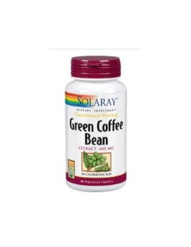 GREEN COFFE (green coffee) extract 400mg. 60cap. - SOLARAY
