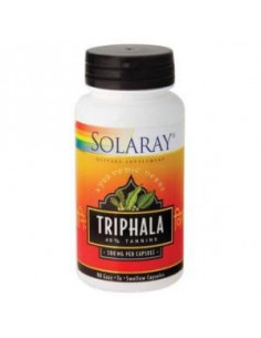 TRIPHALA 500mg. 90cap. - SOLARAY