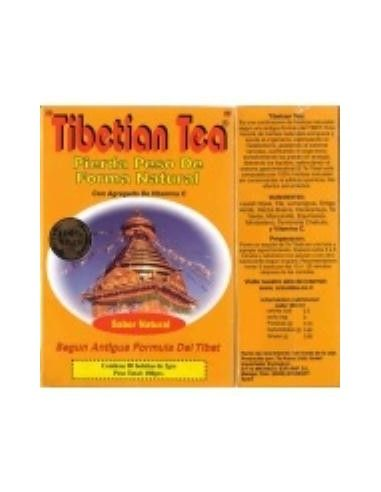 TIBETAN TEA sabor natural 90sbrs. - TIBETAN TEA