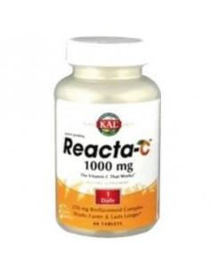 REACTA-C 1000mg. 60comp. KAL - SOLARAY