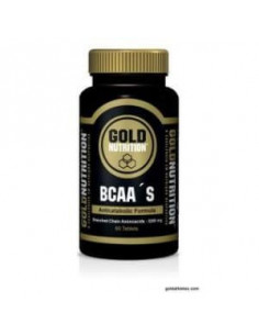 BCAA 60comp. - GOLD NUTRITION