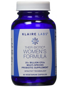 Ther-Biotic Women's Formula- (Probiotic supplement) - klaire Labs- 60 caps