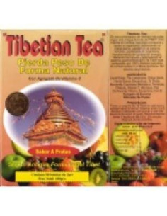 TIBETAN TEA 90sbrs fruit flavor. - TIBETAN TEA