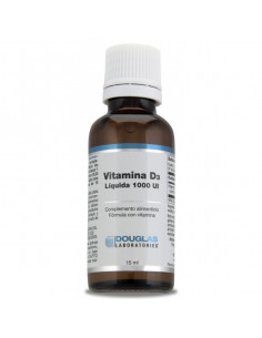 vitamin D3 1000 IU (joint-muscle) - Douglas Labs - 15 ml. Liquid.