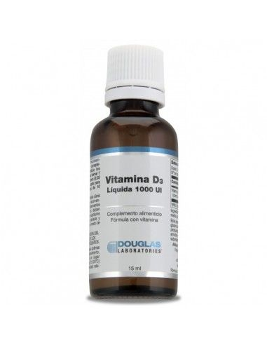 Vitamina D3 1000 UI – Laboratorios Douglas - 15 ml