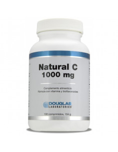 Natural C 1000 mg - Laboratorios Douglas - 100 comprimidos