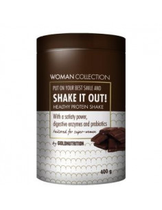 WOMAN COLLECTION SHAKE IT OUT chocolate 400gr. - GOLD NUTRITION