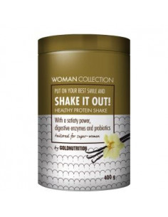 WOMAN COLLECTION SHAKE IT OUT vanilla 400gr. - GOLD NUTRITION