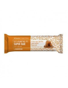 WOMAN COLLECTION SUPER BAR caramelo low carb 24ud - GOLD NUTRITION
