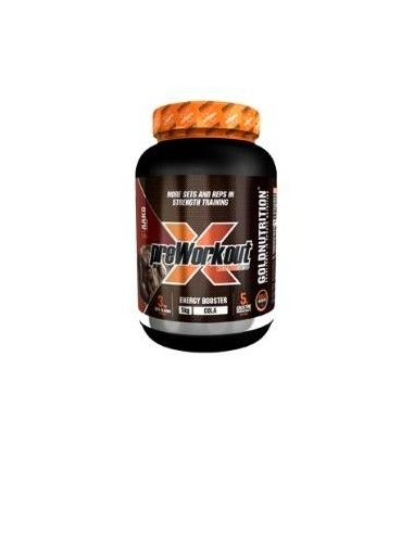 PRE-WORKOUT EXTREME FORCE FORCE caffeine-cola 1kg. - GOLD NUTRITION
