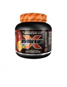 PRE-WORKOUT EXTREME FORCE low carb orange 300gr. - GOLD NUTRITION