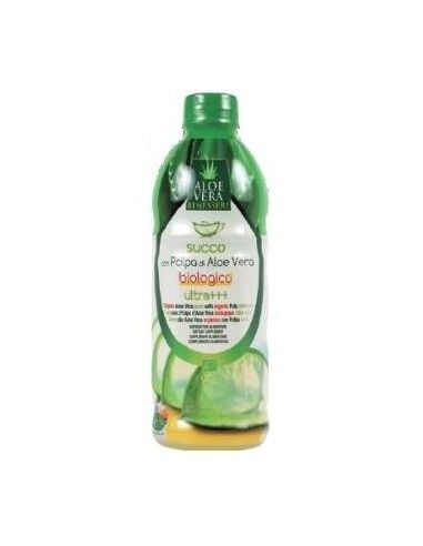 ZUMO ALOE VERA con pulpa 500ml. BIO - HF NATURAL CARE