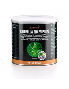Active Foods Chlorella (with vitamins and minerals) -Active Foods-Polvo.300 g