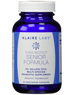 Senior Formula (Empowered inulin Biotic thermophilus) - klaire Labs- 60 caps