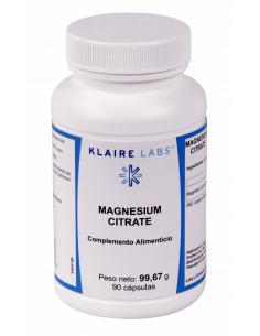 Magnesium citrate (highly bioavailable magnesium) - Klaire Labs