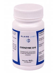 Coenzyme Q10 (100 mg) - Klaire Labs