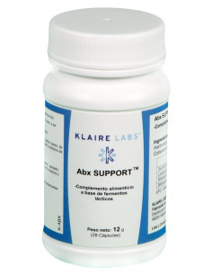ABx SUPPORT 28 CAPS. - Klaire Labs