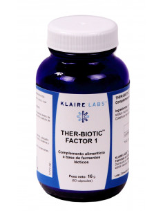 THER BIOTIC FACTOR 1- 60 Cáps.(20 Bill. CFUs) - Klaire Labs
