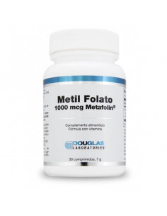Metil Folato Metafolin - Laboratorios Douglas - 1000 mcg
