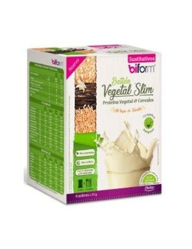 VEGETABLE SLIM SHAKE 4sbrs vanilla. - DIETISA