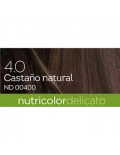 TINTE brown gentle dye 140ml. castaño natural 4.0. Disponible. BIOKAP b1228d022b4