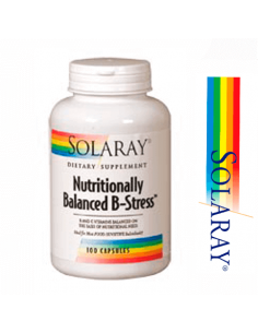Nutritionally Balanced B-Stress - Solaray - 100 cápsulas