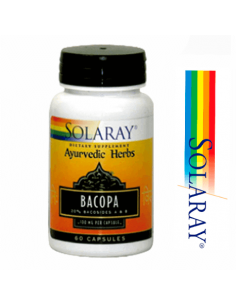 Bacopa 100 mg. - Solaray - 60 caps