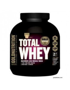 TOTAL WHEY Strawberry 2kg. - GOLD NUTRITION