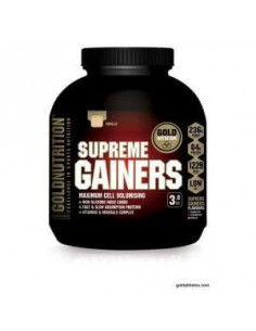 SUPREME GAINERS chocolate 3kg. - GOLD NUTRITION