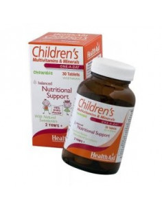 Multinutrient child 30COMP. HEALTH AID - HEALTH AID