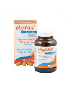 MEGAMULTI with GINSENG 30COMP. HEALTH AID - HEALTH AID