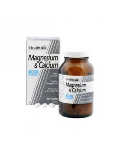 CALCIUM MAGNESIUM with 90comp. HEALTH AID - HEALTH AID