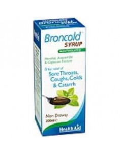 BRONCOLD syrup 200ml. - HEALTH AID