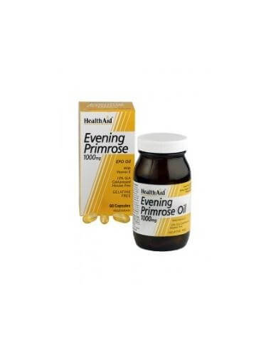 EVENING PRIMROSE OIL 1000mg. 60cap. HEALTH AID - HEALTH AID