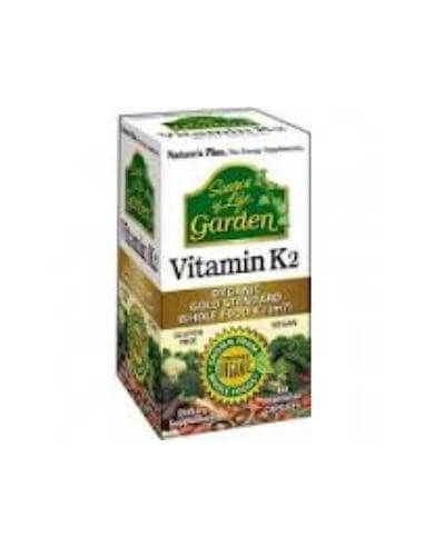 VITAMINA K2 Garden 60cap. - NATURES PLUS